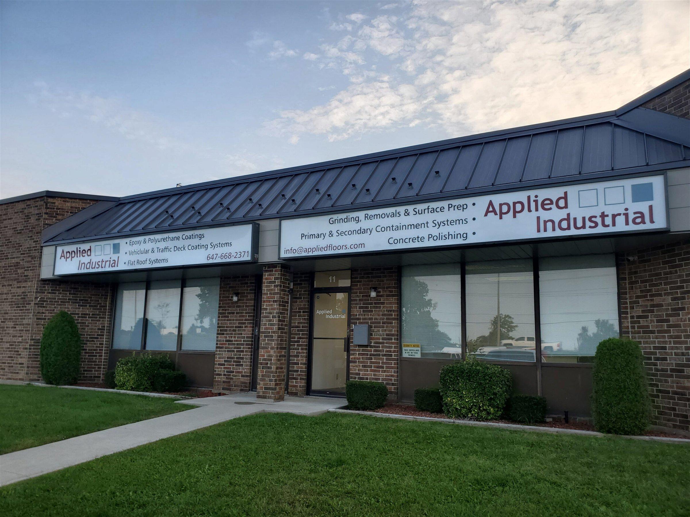 Applied Flooring Cambridge office front